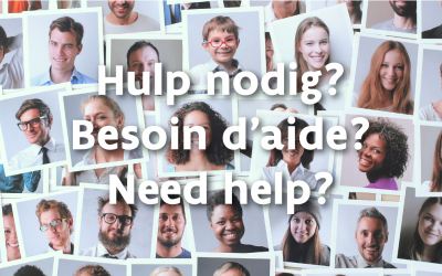 Hulp nodig? Besoin d'aide? Need help?