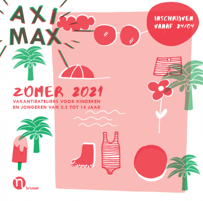 cover zomerbrochure Aximax 2021